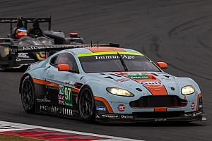 WEC Qualifying report Aston Martin qualifies on GTE pole in Shanghai
