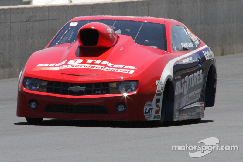 Shane Gray puts a good run in the bank on finals raceday at Las Vegas