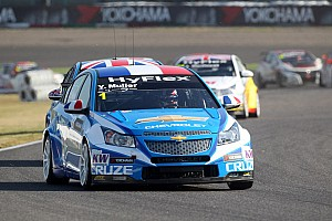 Chevrolet drivers battle for title in Shanghai
