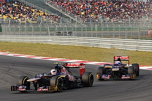 Toro Rosso keeps same drivers for 2013