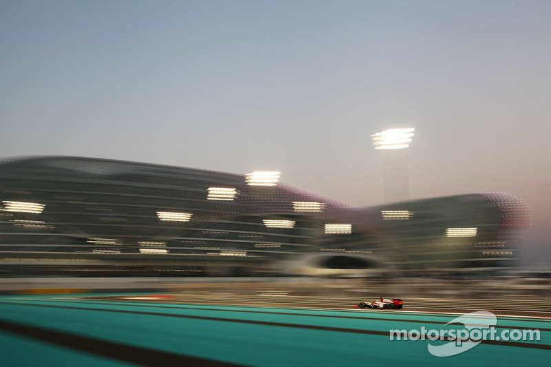 Free Practice sessions for HRT at the Abu Dhabi Grand Prix