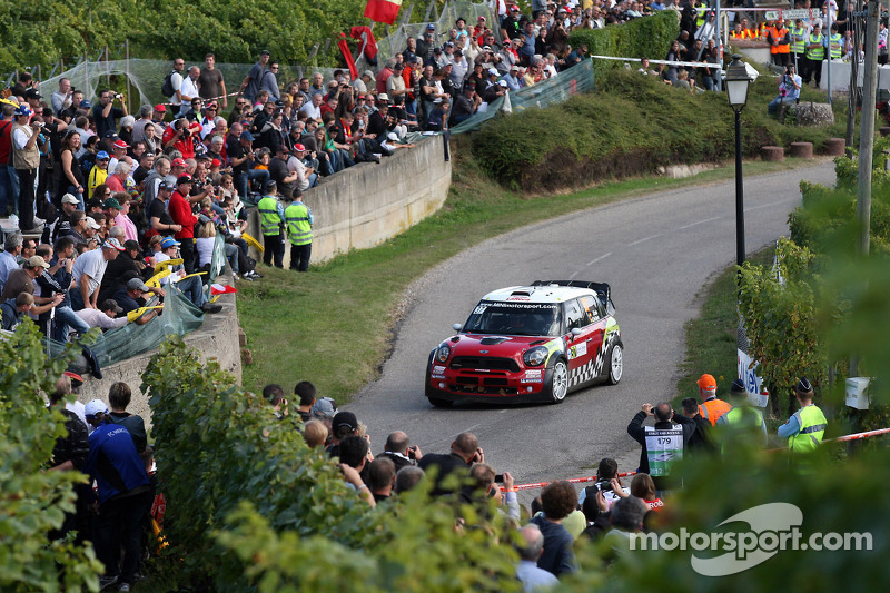 Team gives Sordo chance to show Mini's pace on Rally Catalunya