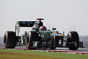 Formula 1 Practice report Caterham drivers work on learning Austin track in Friday practice