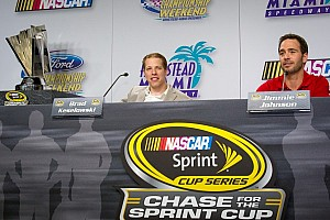 NASCAR Sprint Cup Blog Brian France stirs up the media prior to 2012 season finale