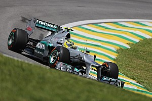 Formula 1 Qualifying report Rosberg and Schumacher qualified in 10th and 14th places for the Brazilian GP
