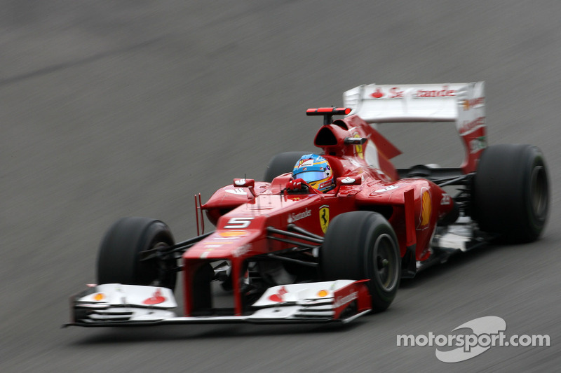Alonso moves up a grid position; penalty to Maldonado in Brazil