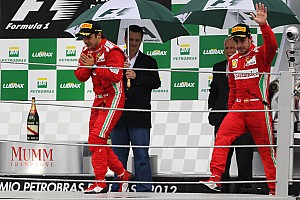 Formula 1 Race report Ferrari almost did it in Interlagos