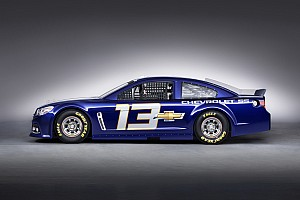 NASCAR Sprint Cup Breaking news New Chevrolet SS race car unveiled in Las Vegas