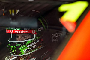 V8 Supercars Practice report TeamVodafone battles heat in Sydney practice