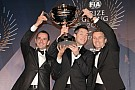 Audi and champion drivers Fssler, Lotterer, Trluyer celebrate 2012 awards