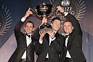 Audi and champion drivers Fässler, Lotterer, Tréluyer celebrate 2012 awards