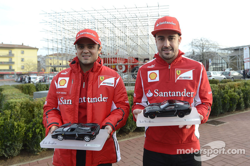 A double unveiling in Maranello