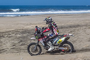 Barreda rides his Husqvarna to stage 4 victory