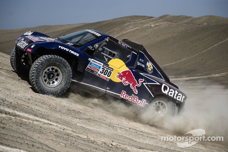 Bittersweet day for the Qatar Red Bull Rally Team