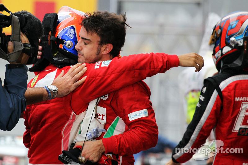 Alonso toughest Ferrari teammate of all - Massa