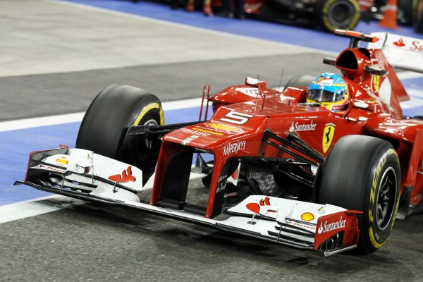 Ferrari to evolve 'pull-rod' layout for 2013