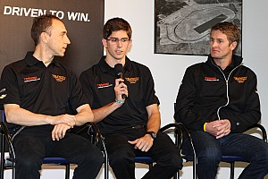 Grand-Am Press conference Angelelli, Taylor and Hunter-Reay on 2nd place in the Rolex 24 at Daytona