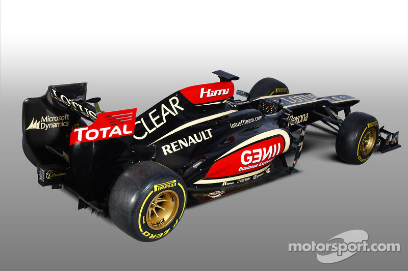 Lotus F1 unveils E21 at their headquarters in Enstone