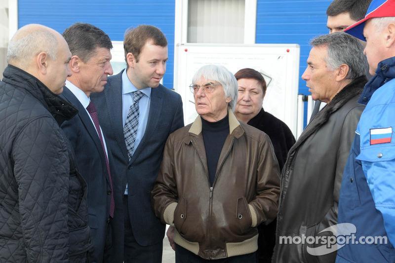 Ecclestone 'super impressed' on Sochi visit