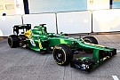 Caterham F1 Team reveils CT03 - video