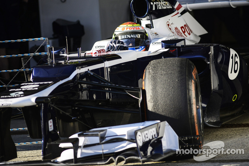 Maldonado and Williams satisfied with day 2 at Jerez