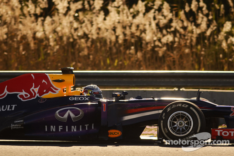 Vettel happy with his first day of testing in Jerez