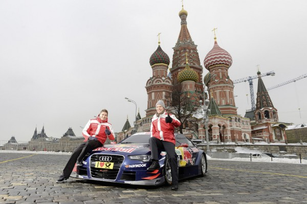 World premiere on Red Square: Audi A5 DTM in Moscow