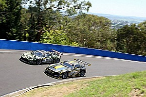 Endurance Qualifying report Mercedes and Ferrari on Bathurst 12H front row