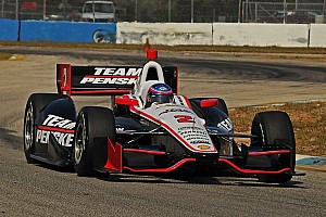 IndyCar Special feature Allmendinger completes successful testing day for Team Penske
