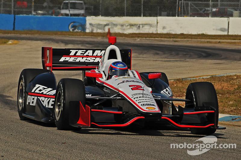 Allmendinger completes successful testing day for Team Penske