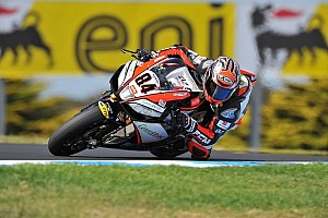 World Superbike Qualifying report Michel Fabrizio sets the Friday qualifying pace in Phillip Island