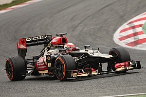 Formula 1 Breaking news Lotus denies engine maps issue will slow 2013 car