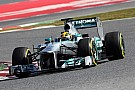 Mercedes 'stuns rivals' with final test pace