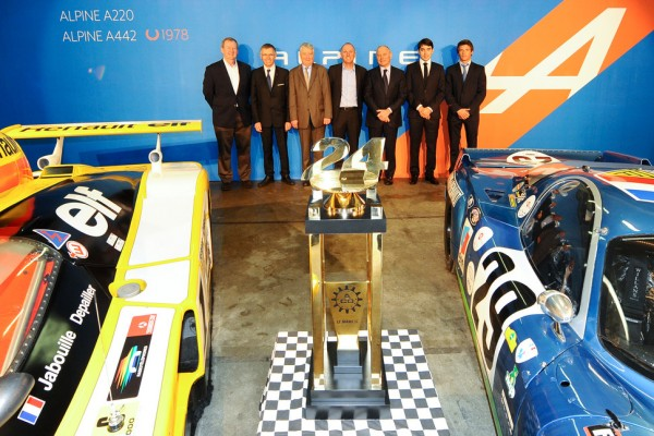 Alpine (Renault) officially returns to Le Mans and endurance racing