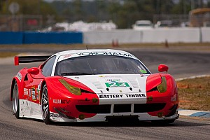 ALMS Qualifying report Team West Alex Job Racing to start Sebring GT from fifth row