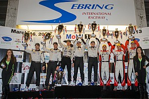 ALMS Race report HPD opens 2013 with P2 victory at Sebring