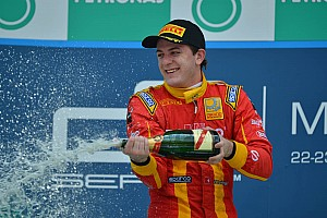 GP2 Race report Leimer and Racing Engineering win the first race of the season at Sepang