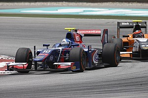 GP2 Race report Palmer scores points on Carlin GP2 debut after courageous fight back at Malaysia
