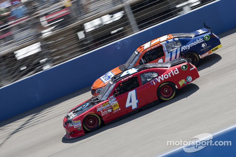 28th place for Daryl Harr at Auto Club Speedway
