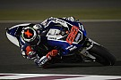 Lorenzo grabs top spot in first MotoGP session of the year in Qatar