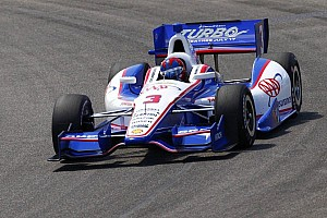 Castroneves, Tagliani and Vautier lead the way in practice at Barber