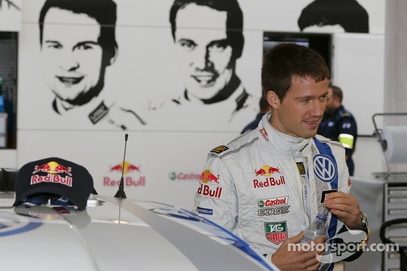 Slender lead for Volkswagen driver Sébastien Ogier in day one at Portugal