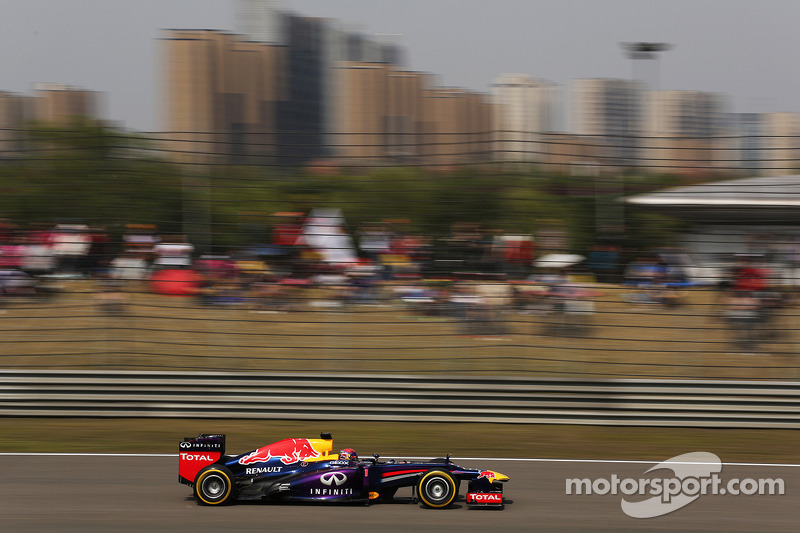 Top five finish for Sebastian Vettel at Chinese GP