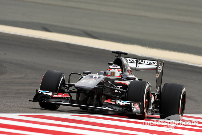 Out of points finish for Sauber F1 Team today at Bahrain