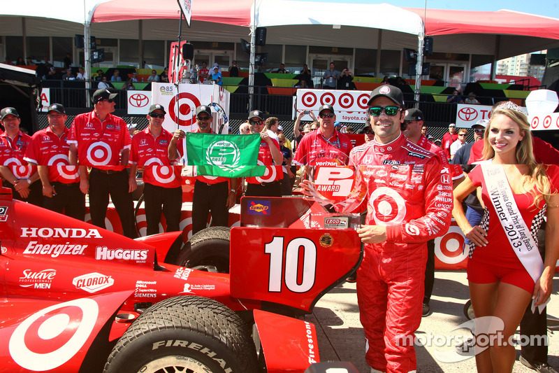 Franchitti claims pole for Honda at Long Beach