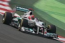 Schumacher to drive his 2011 Mercedes W02 at Nürburgring