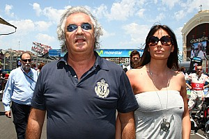 Formula 1 Breaking news Briatore plays down F1 return chances