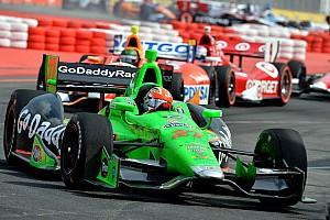Andretti's Hinchcliffe wins Sao Paulo Indy 300