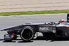 Sauber focus on Friday practice in Barcelona was to test new parts and tires