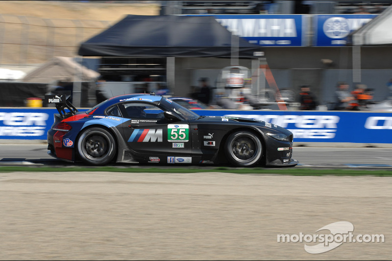 BMW Team RLL qualifies 5th and 8th at Laguna Seca